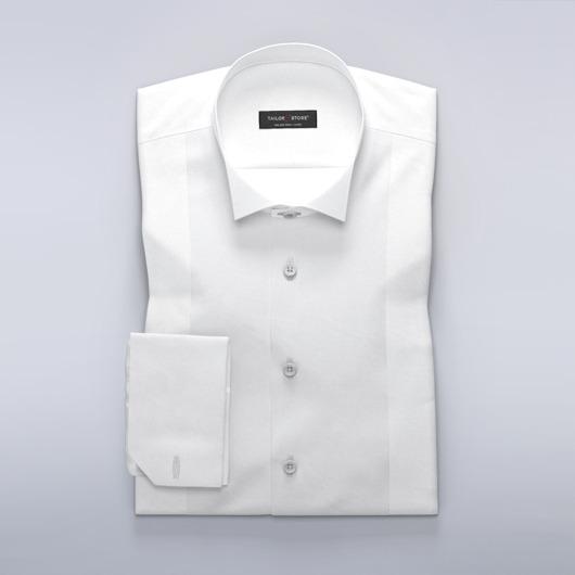 Klassinen valkoinen, solmion kanssa käytettäväksi suunniteltu kauluspaita