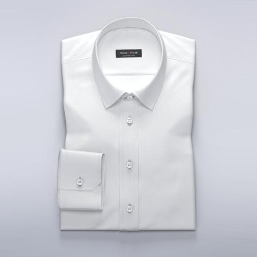 Leichtes, weißes, luxuriöses Business-Hemd