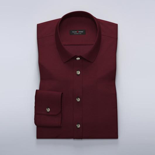Vinrød business-skjorte for damer