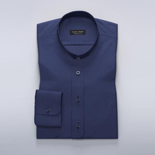 Dameskjorte i kongeblå lin