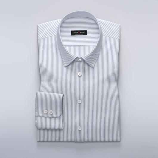Stripede businesskjorte i twill for damer