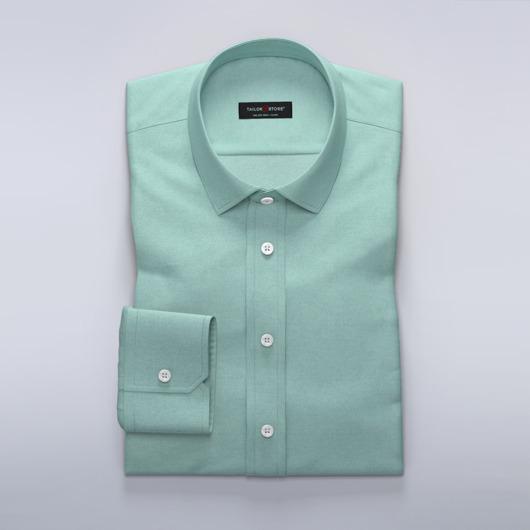 Business-skjorte til damer i lysegrøn twill