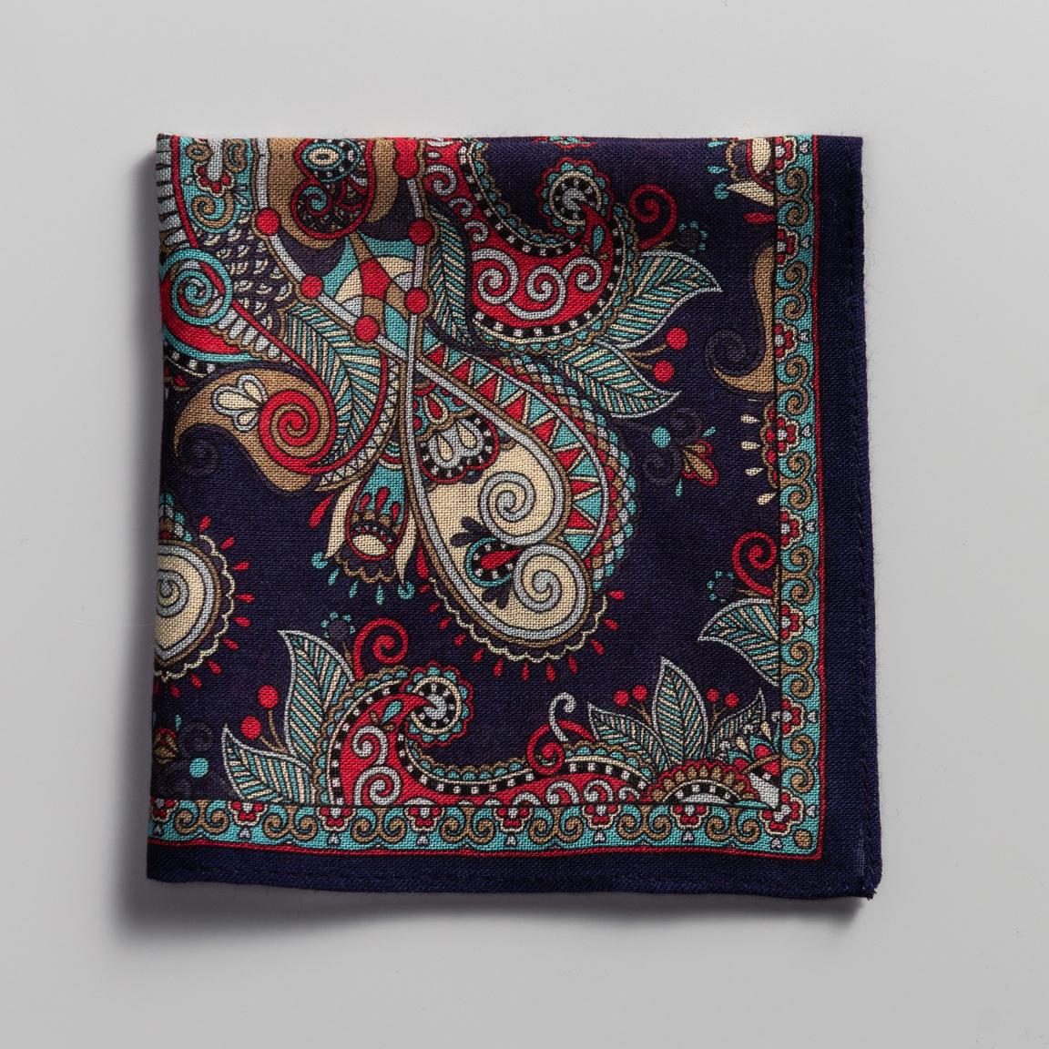 Mouchoir de poche avec des motifs orientaux