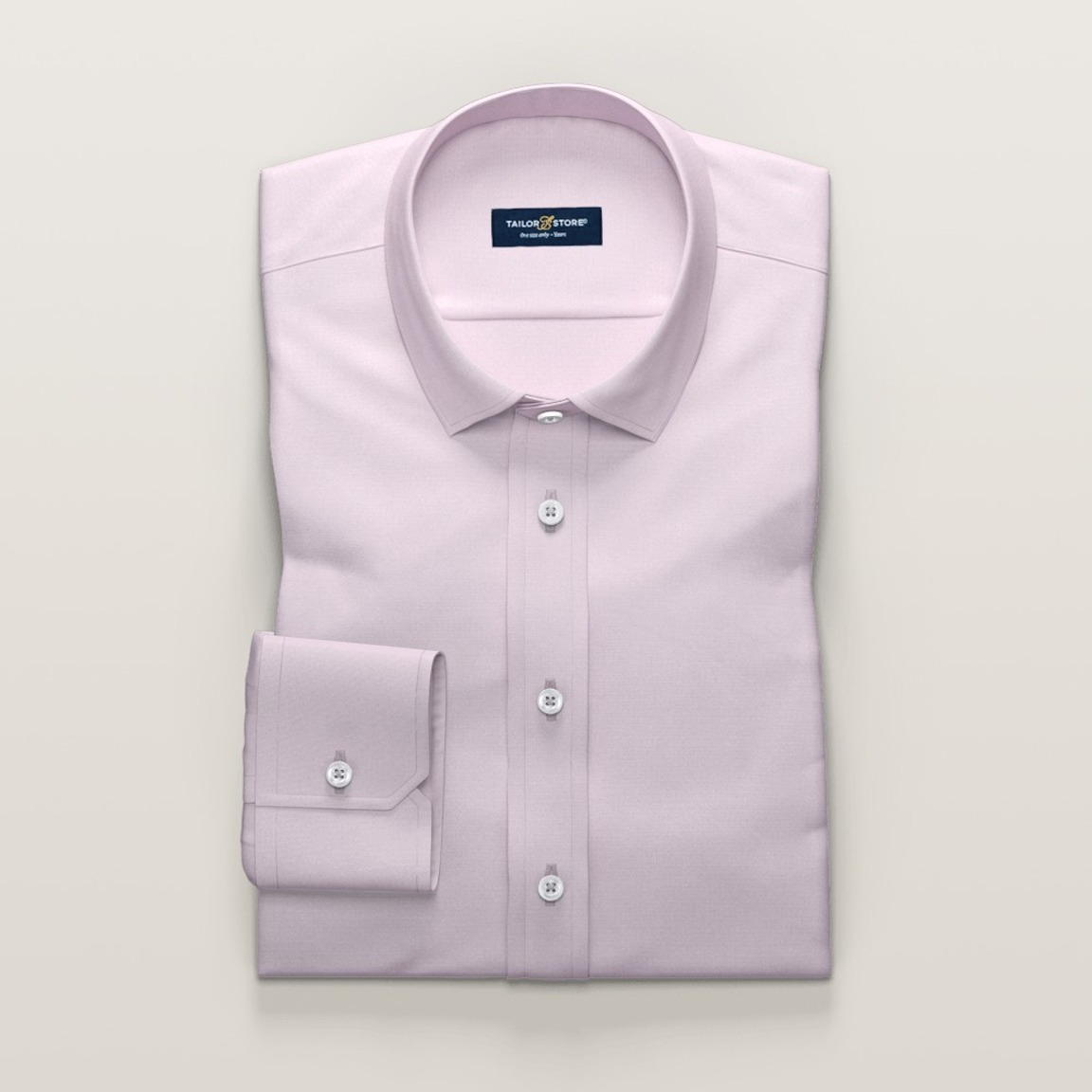 Pink dress shirt in French Oxford