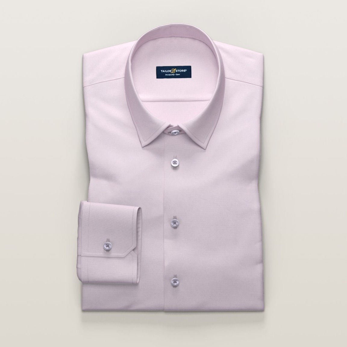 Ladies' business dress shirt in pink french oxford