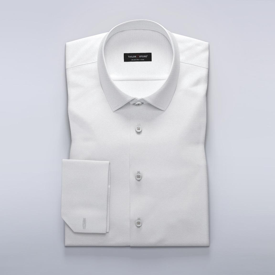 Exklusives Business-Hemd für Damen aus strukturiertem Stoff