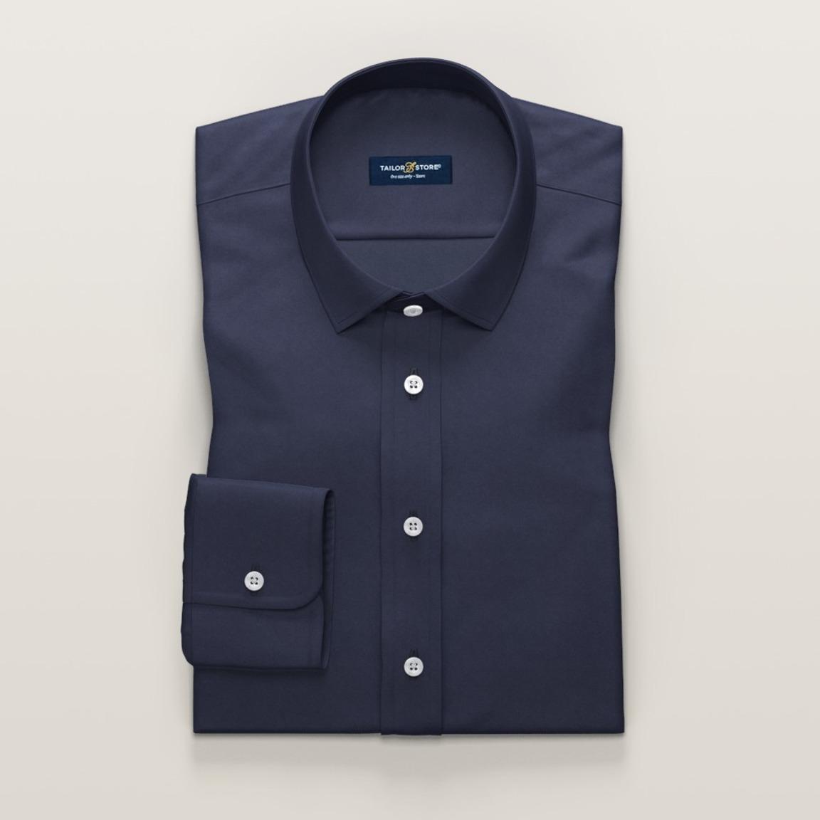 Dark blue women's shirt