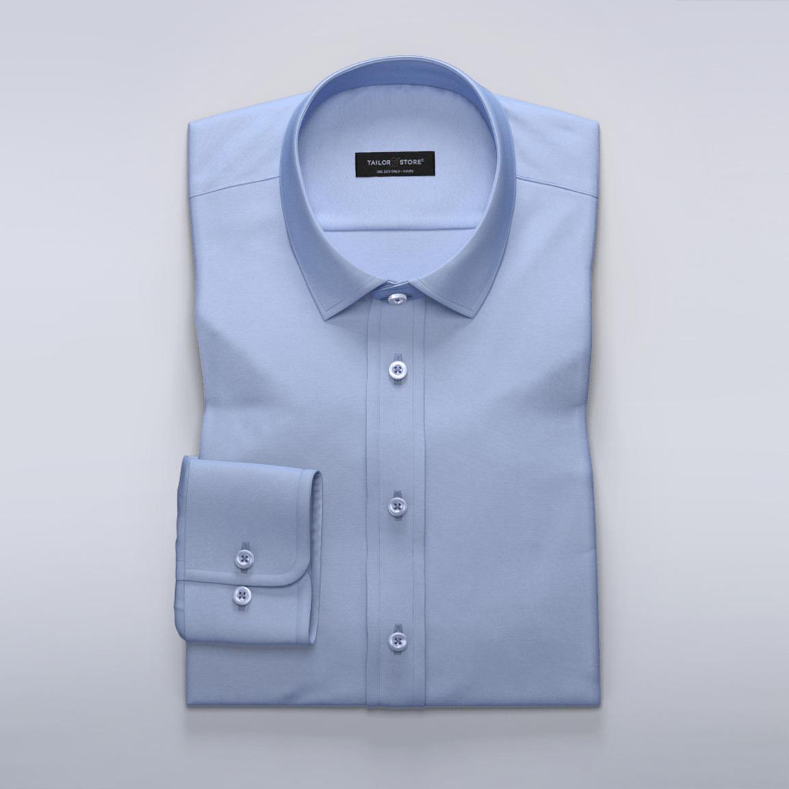Light blue women's dress shirt