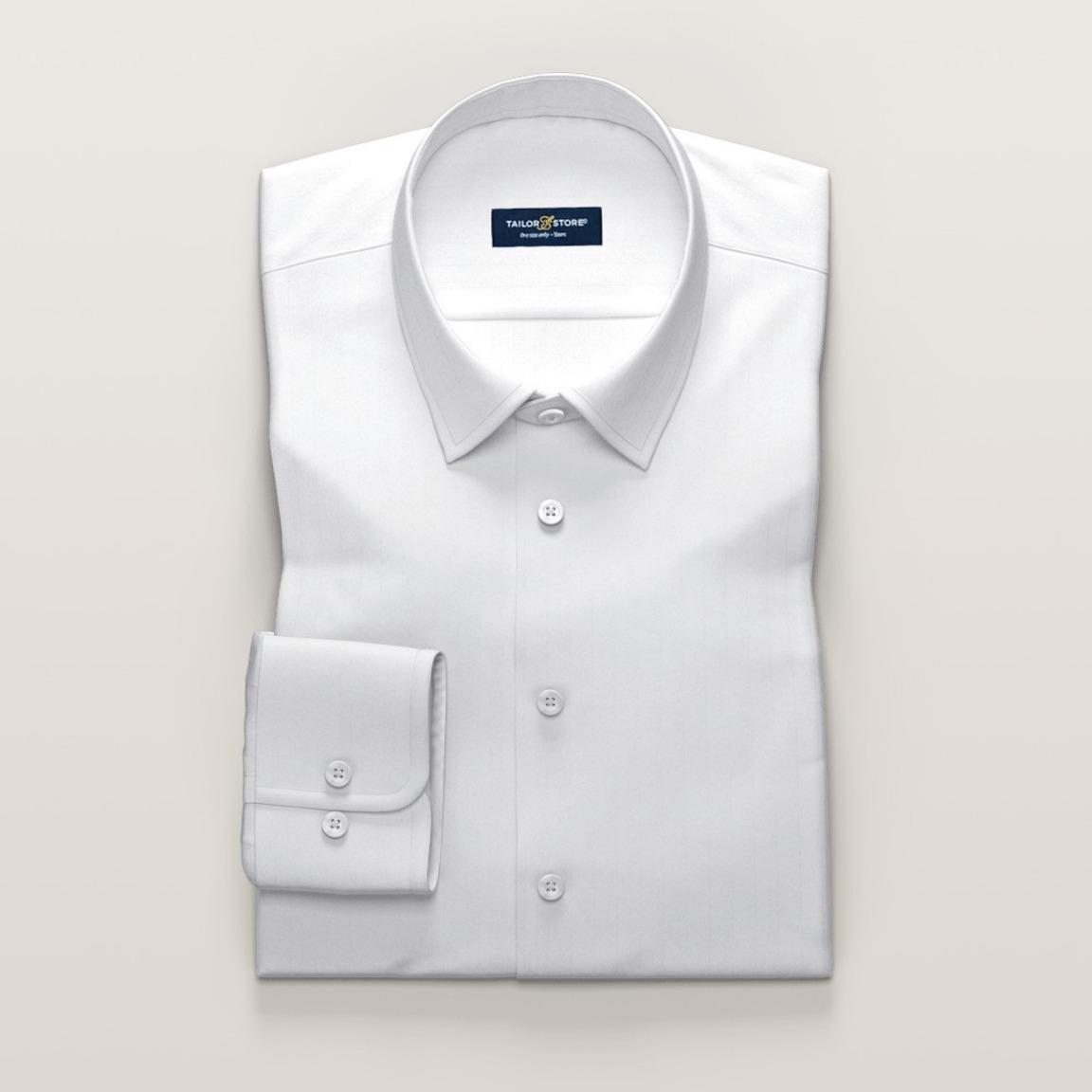 White luxurious business shirt