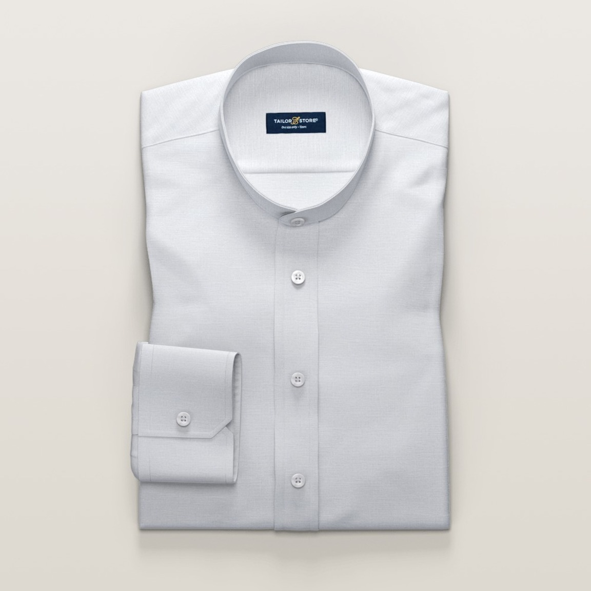Chemise blanche en lin tendance