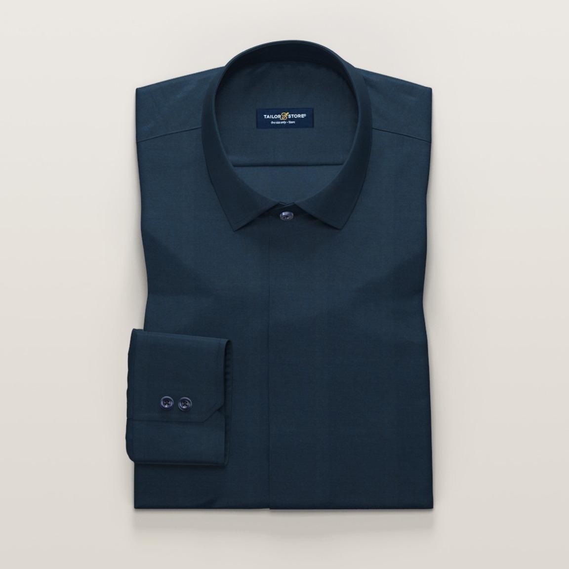Marinblå damskjorta