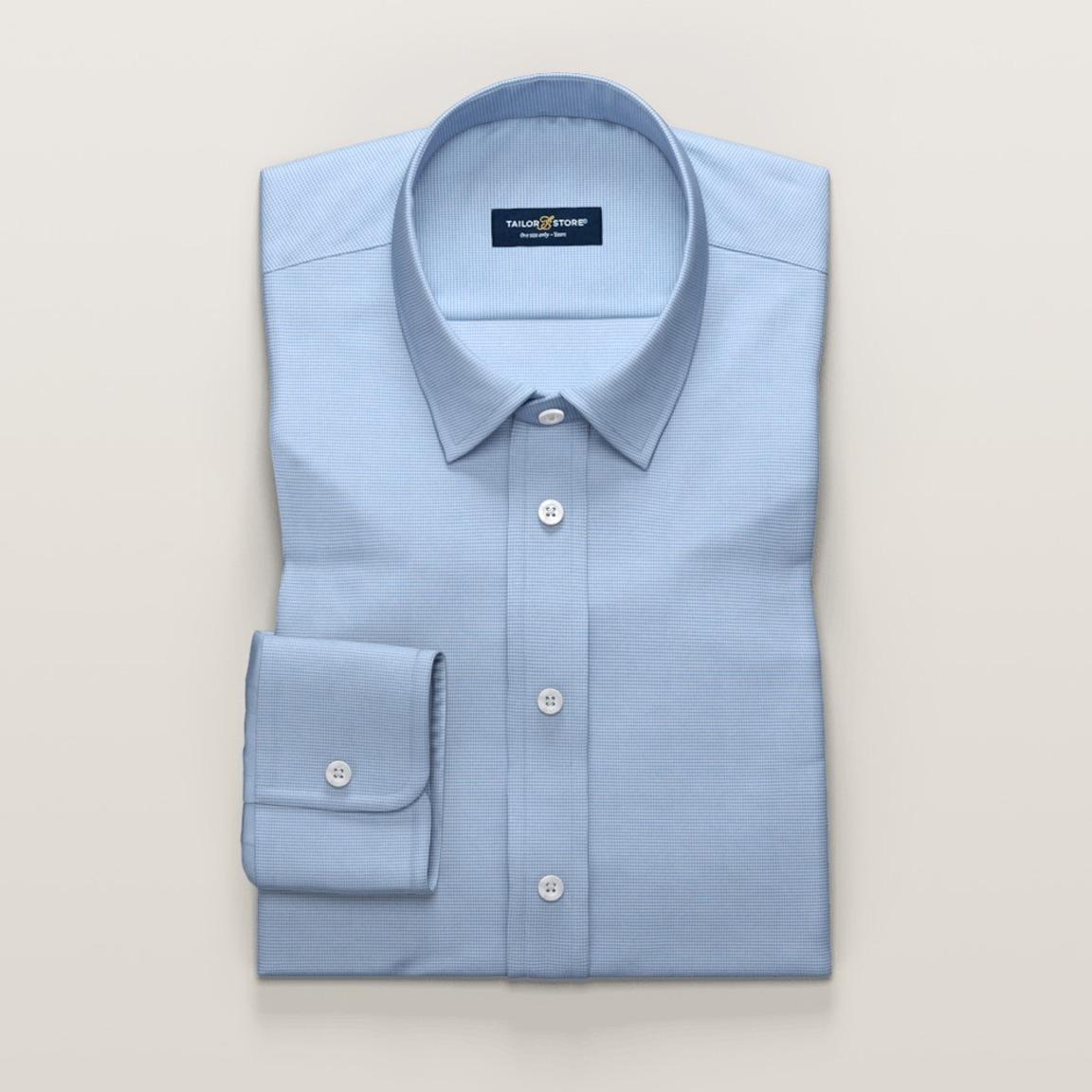 Hellblaues Damenhemd