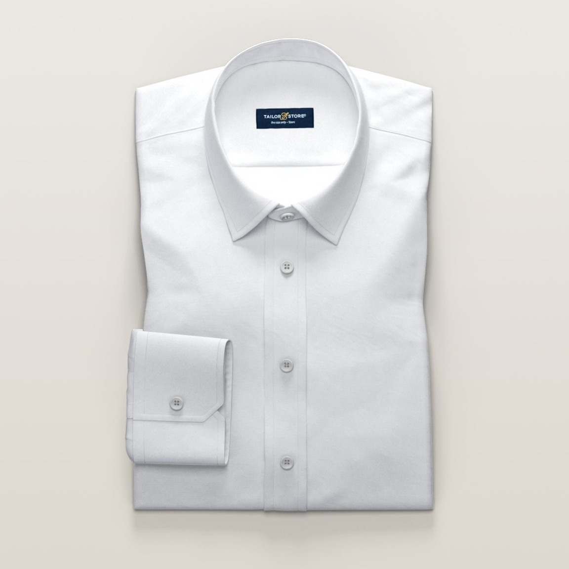 White Non-Iron business shirt