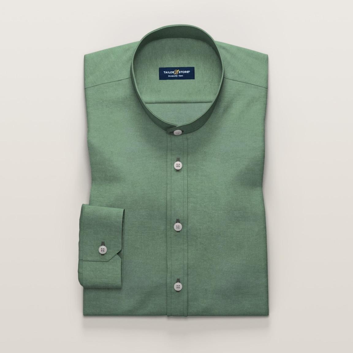 Light green linen shirt