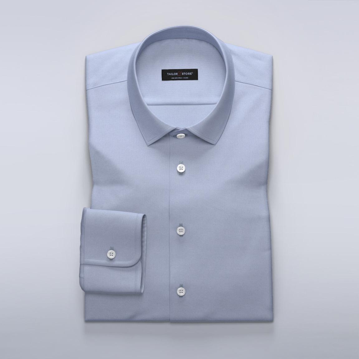 Vaaleansininen Oxford-paita