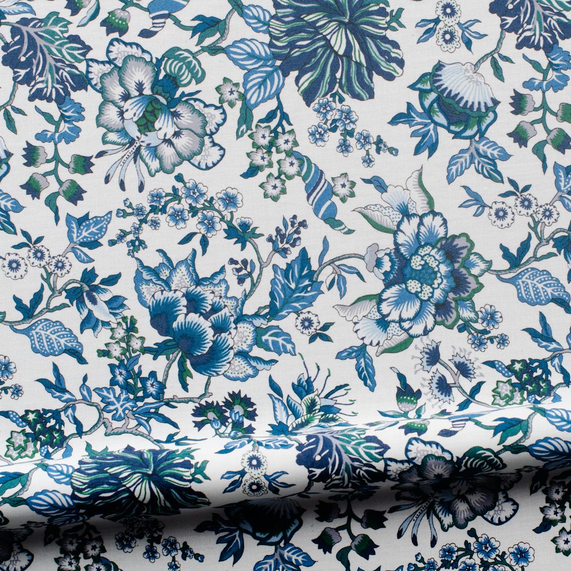 Liberty Art, blue wild flowers