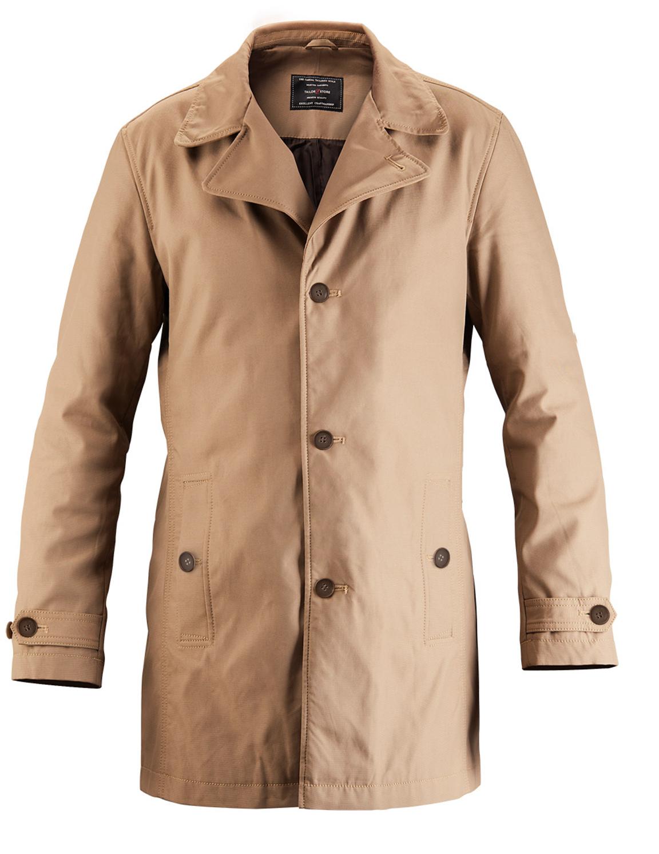 Manteau car casual Brun Chameau sur mesure