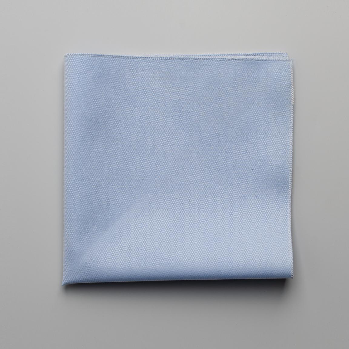 Light blue square pocket