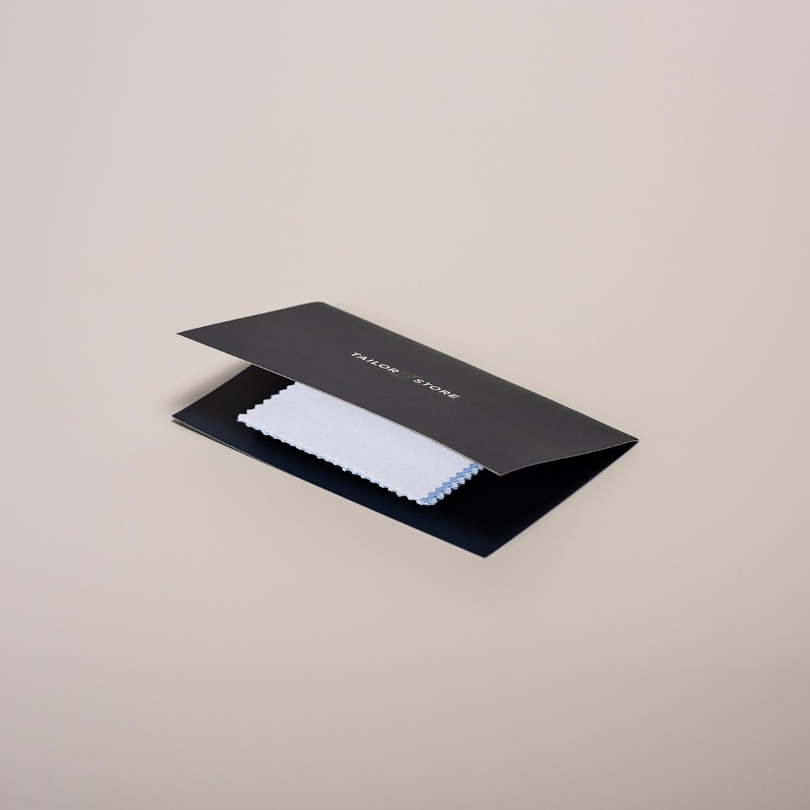 Made to measure dress shirt fabrics sample kit