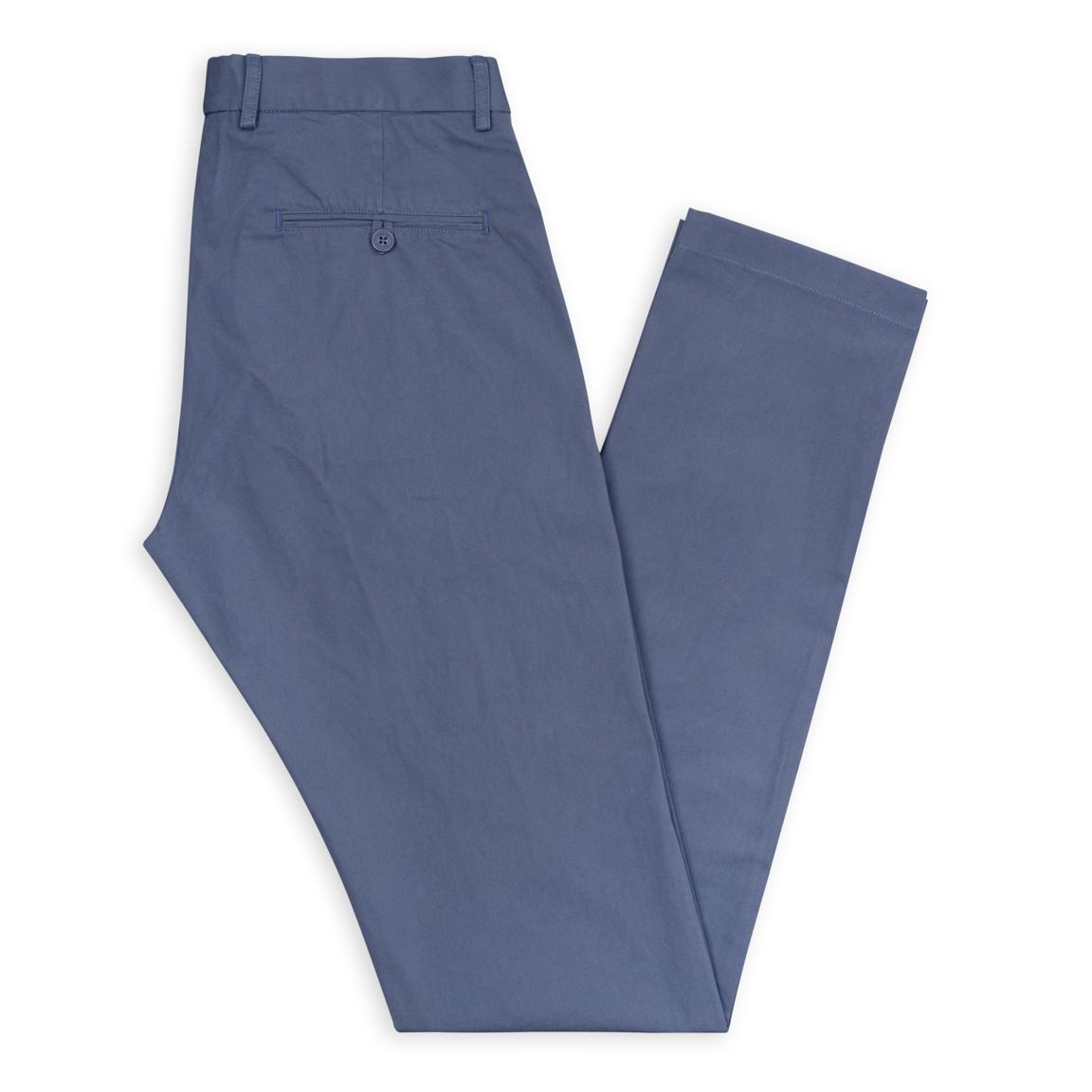 Indigo blue tailor made chinos