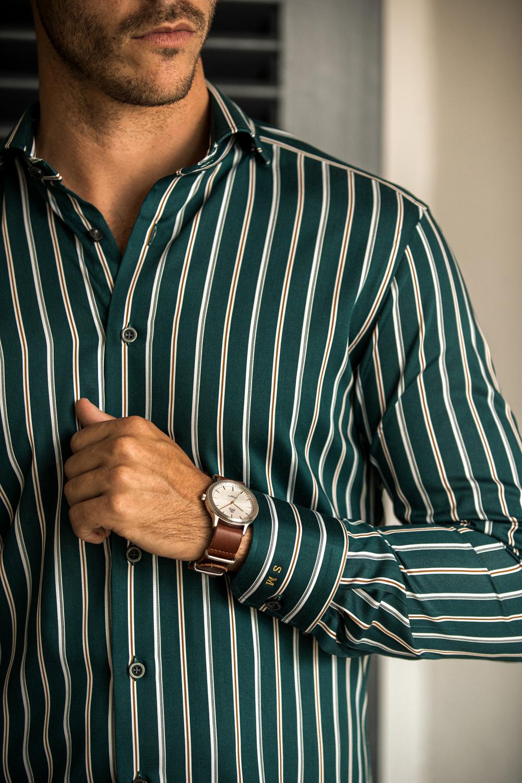 Mørk himmelblå dresskjorte | Tailor Store®